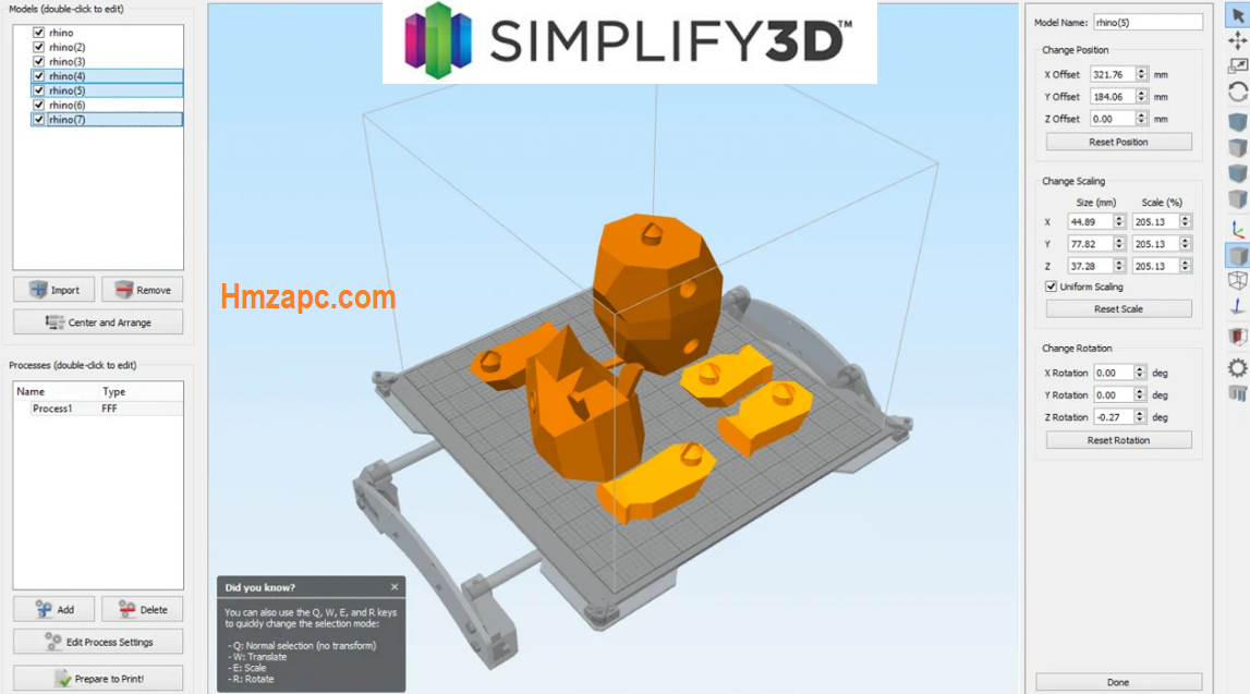 Simplify3D Pirate Version