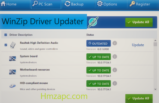 WinZip Driver Updater Registration Key Free