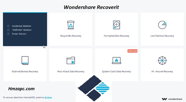 Wondershare Recoverit Free Download For Windows