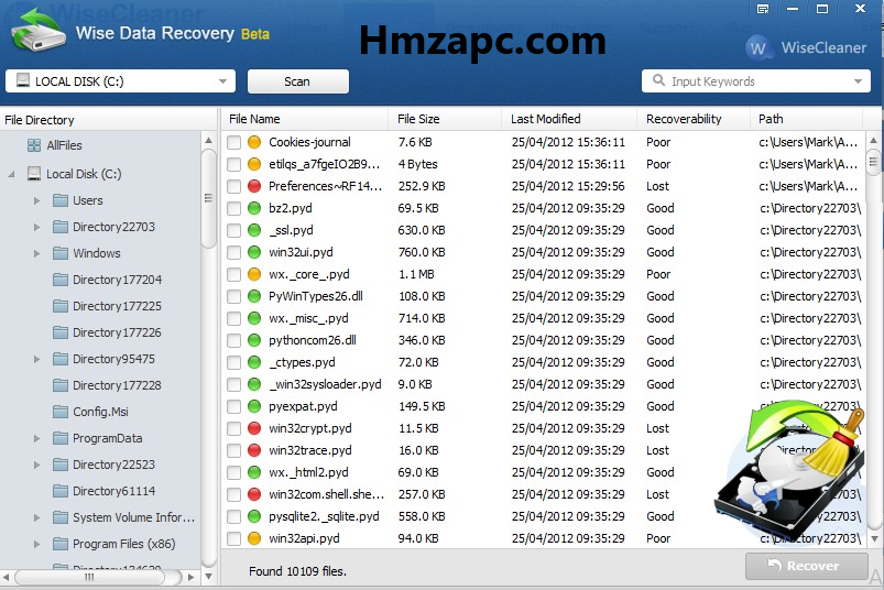Wise Data Recovery Crack Serial Key